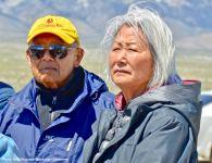 Don Hata (left) and Hatsuko Mary Higuchi (right)