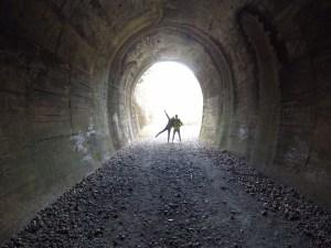 トンネル,新年,波乱万丈