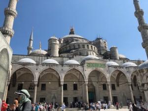イスタンブール旅行ブルーモスク