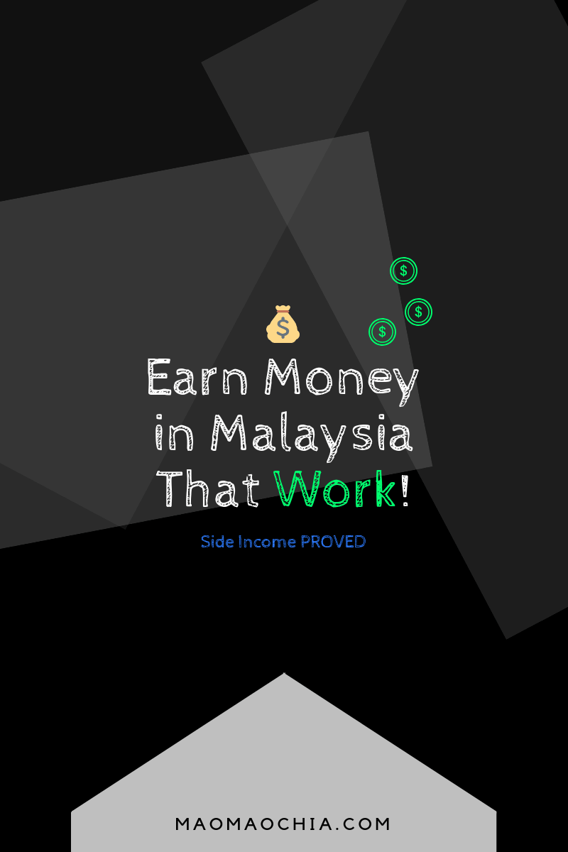 Earn Money Online Malaysia Extra Side Income Ideas [Proved