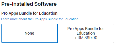 education pre-installed software