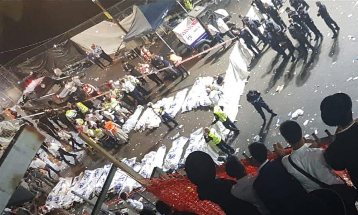 מזעזע: מאות נמחצו האחד על השני 45 מהם נפטרו | אסון מירון
