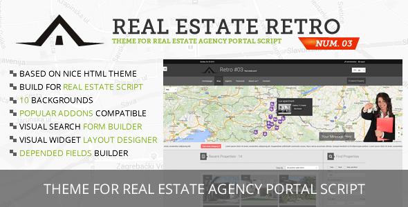 Real Estate Retro Template #03