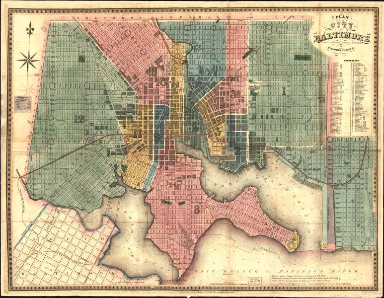 Historic maps helpers City maps