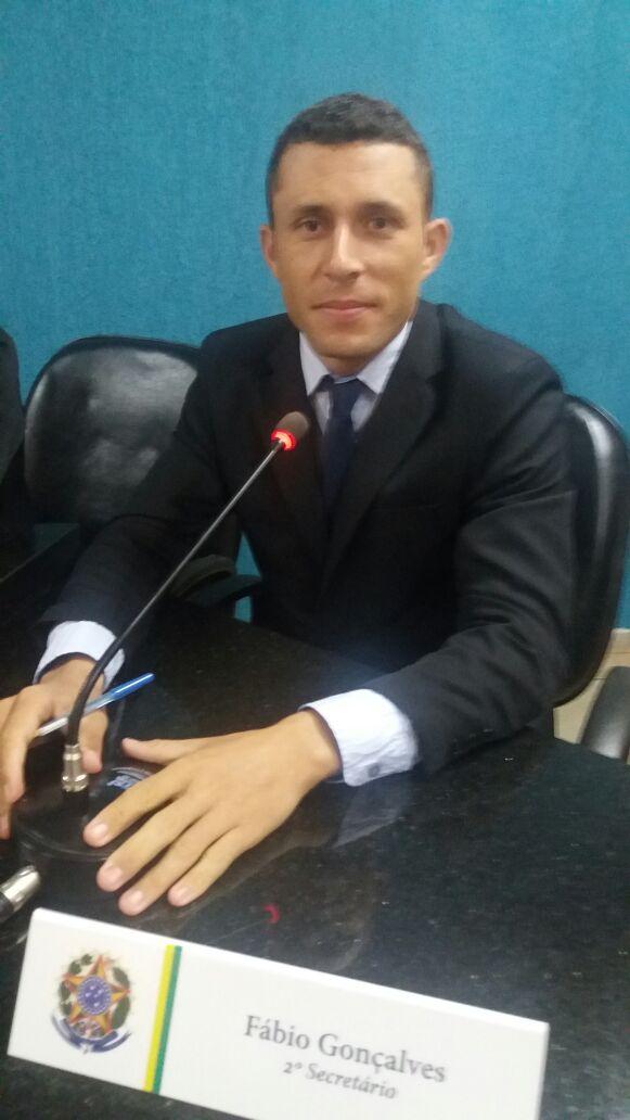Vereador Fabio Gonçalves.
