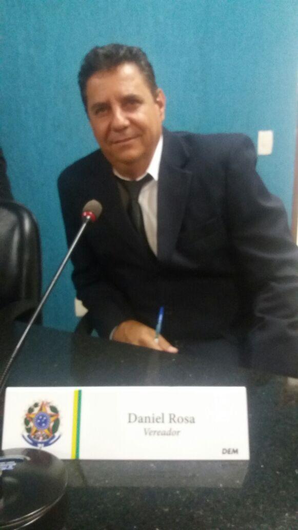 Professor Daniel Rosa, primeiro mandato.