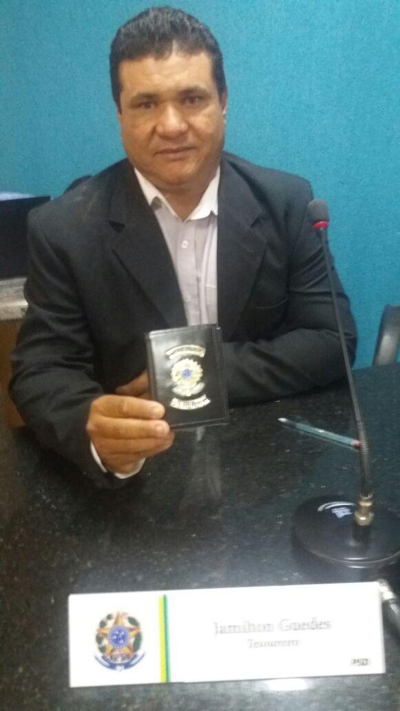 Vereador Jamilton Guedes.