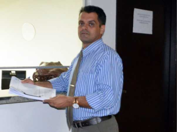 Presidente do Sindicato dos Oficiais de Justiça do Estado do Tocantins (Sindojus-TO), Roberto Faustino.