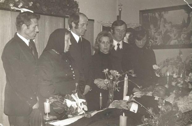 Pogrzeb Bronisława Zakrzewskiego, 1978 rok.