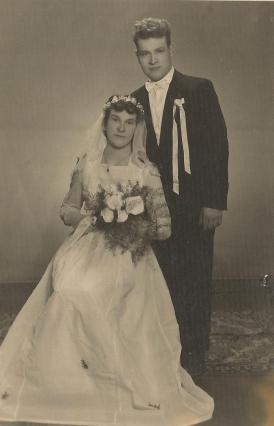 Pani Stasia z mężem.