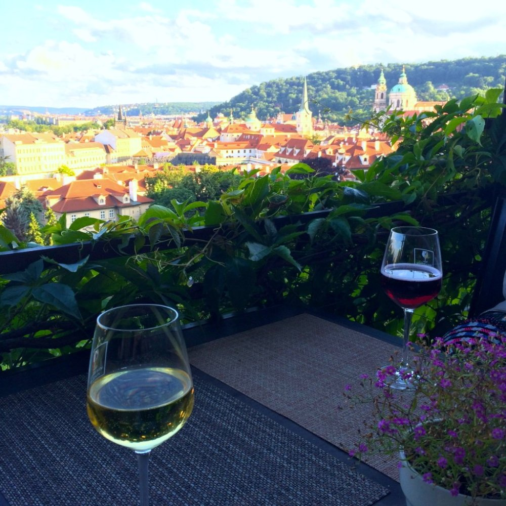 Offbeat Prague: Vineyard overlooking the city