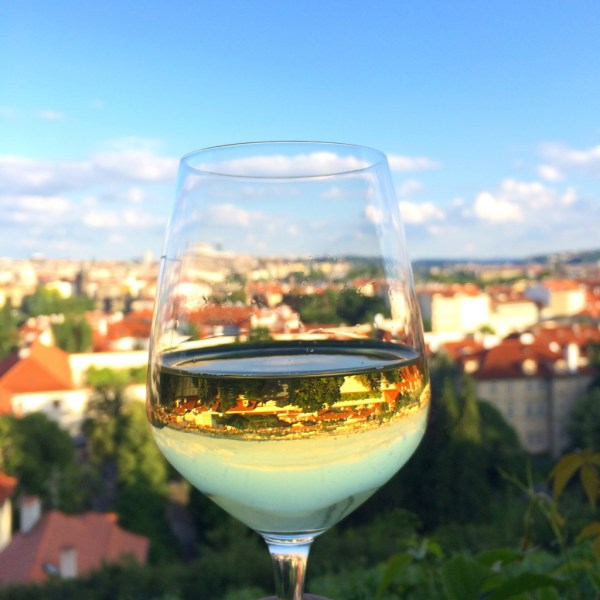 Offbeat Prague: reflections of the city in a wine glass