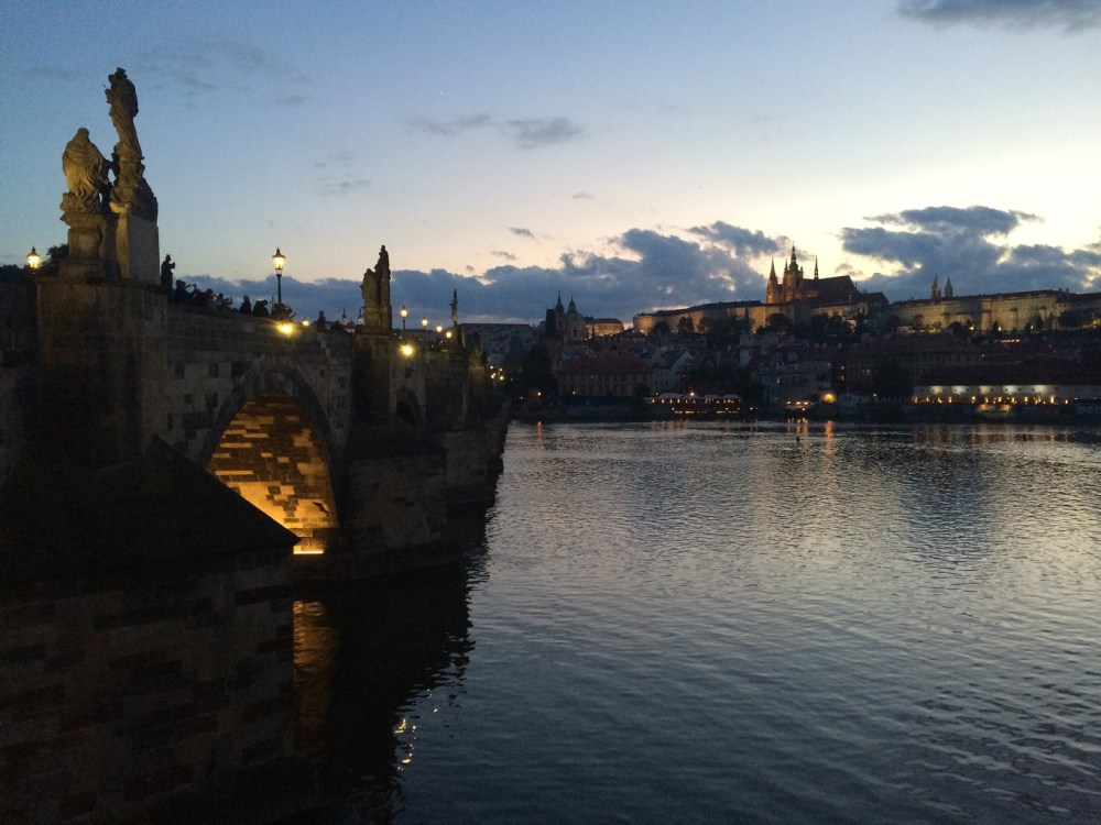 Offbeat Prague: Dusk by the Charles Bridge