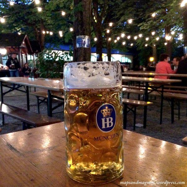 Offbeat Munich: Beer mugs at the beergarden