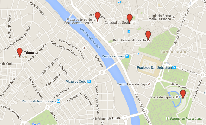 seville-map-tourist