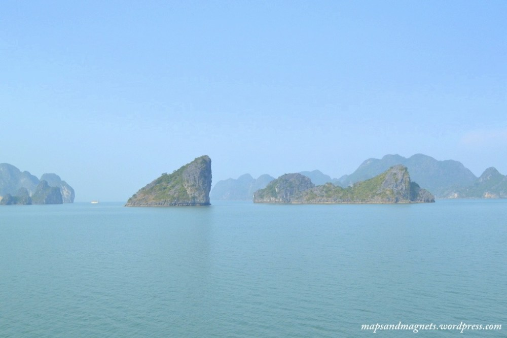 Ha Long Bay views