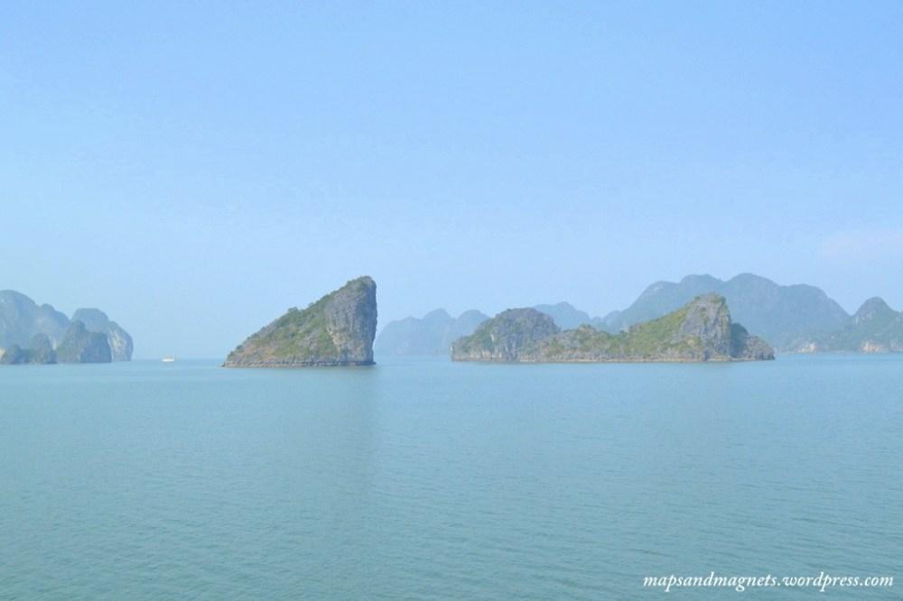 Ha Long Bay views