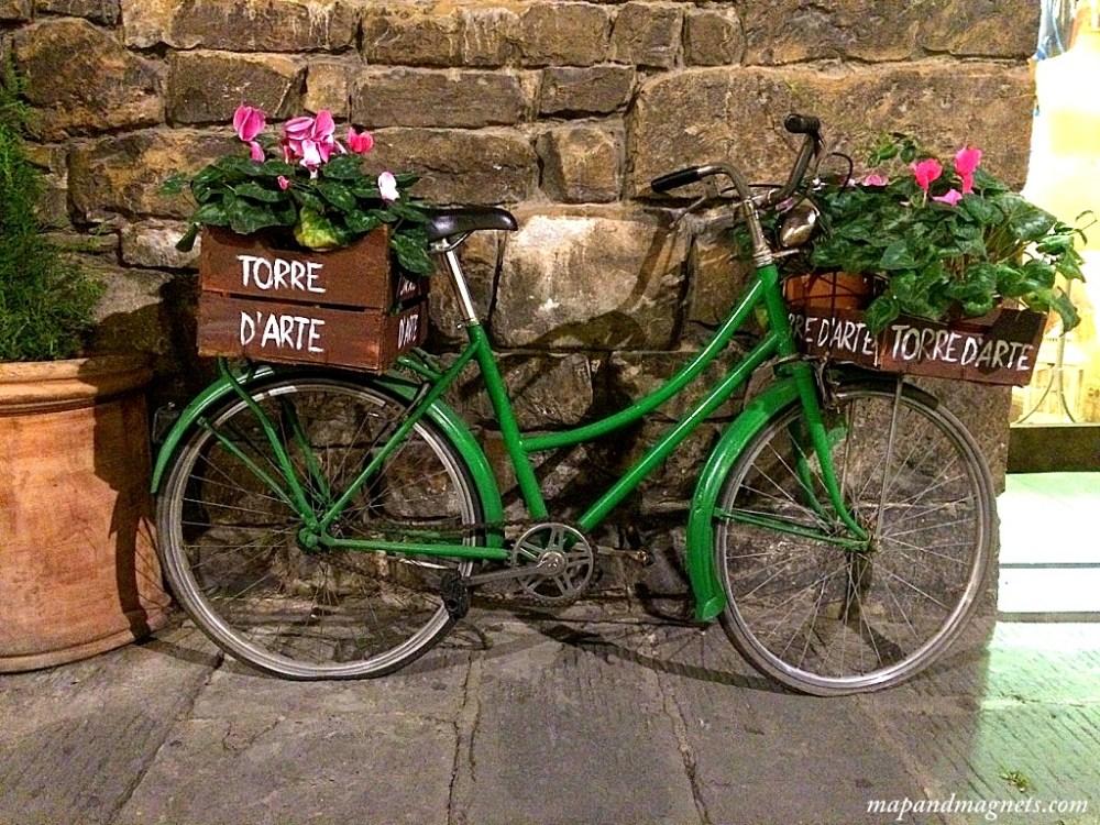 Bike on Florence street