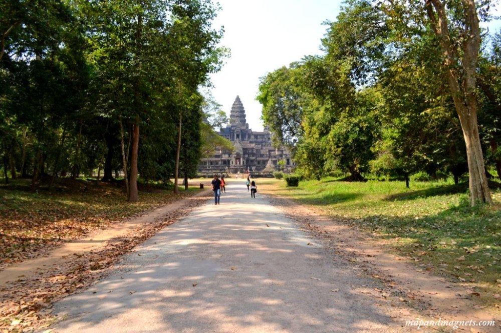 Angkor Wat complex entrance