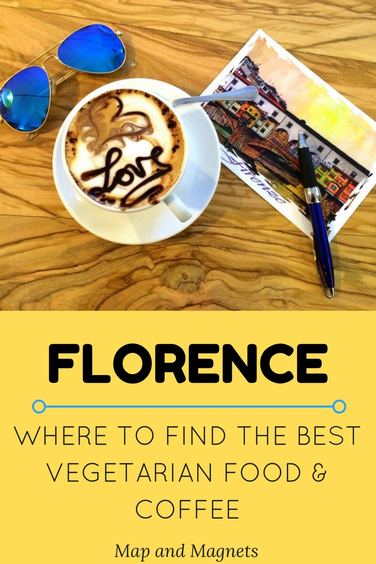 Where to find the best vegetarian food and coffee in Florence