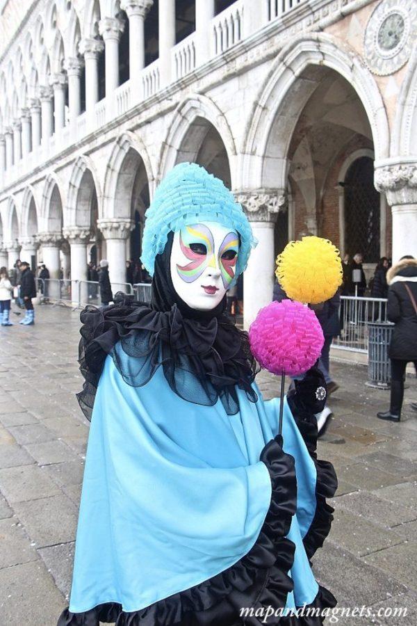 Venice carnival child