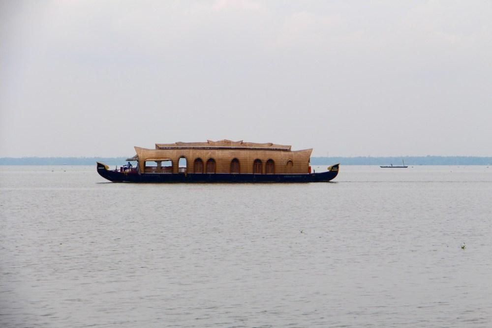 Kerala backwaters houseboat on Vembanad Lake