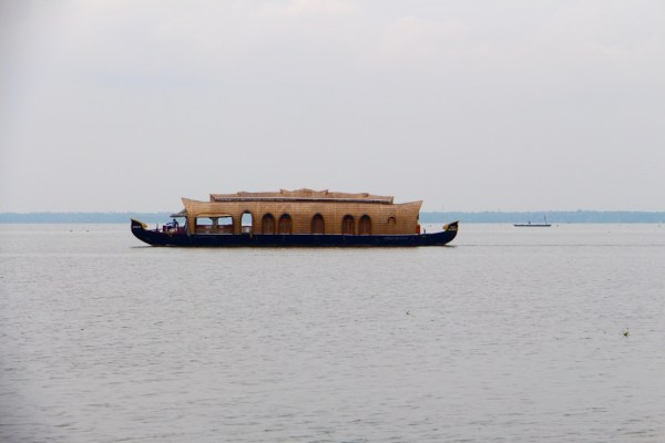 Kerala backwaters houseboat on Vembanad Lake