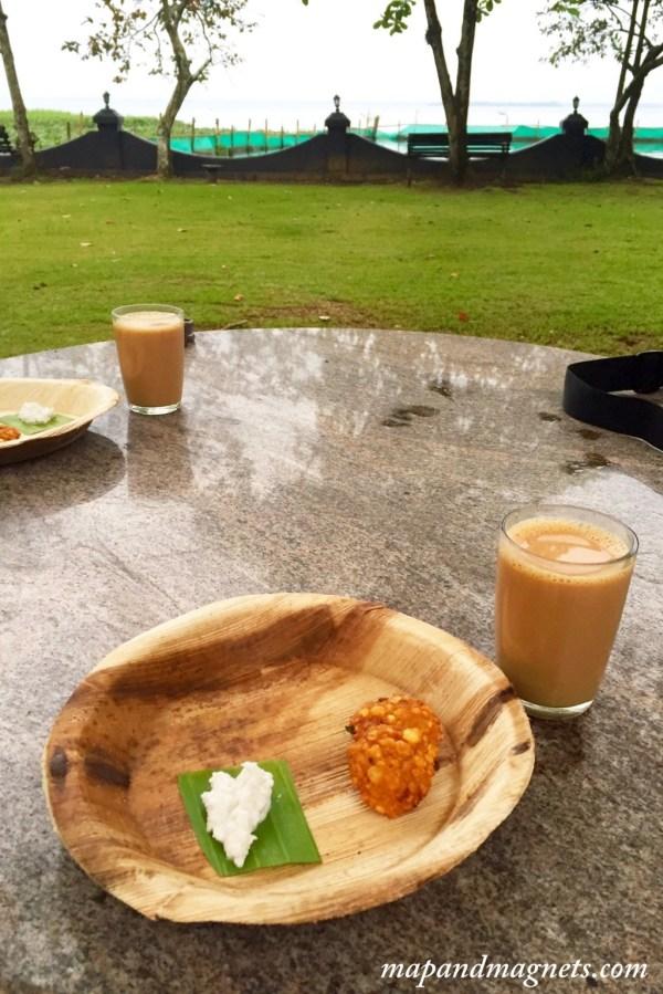 Taj Kumarakom kerala chai