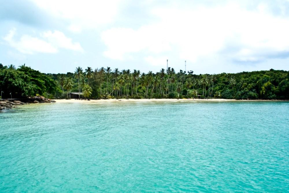 A Na Lay Cove in Koh Kood island in Thailand