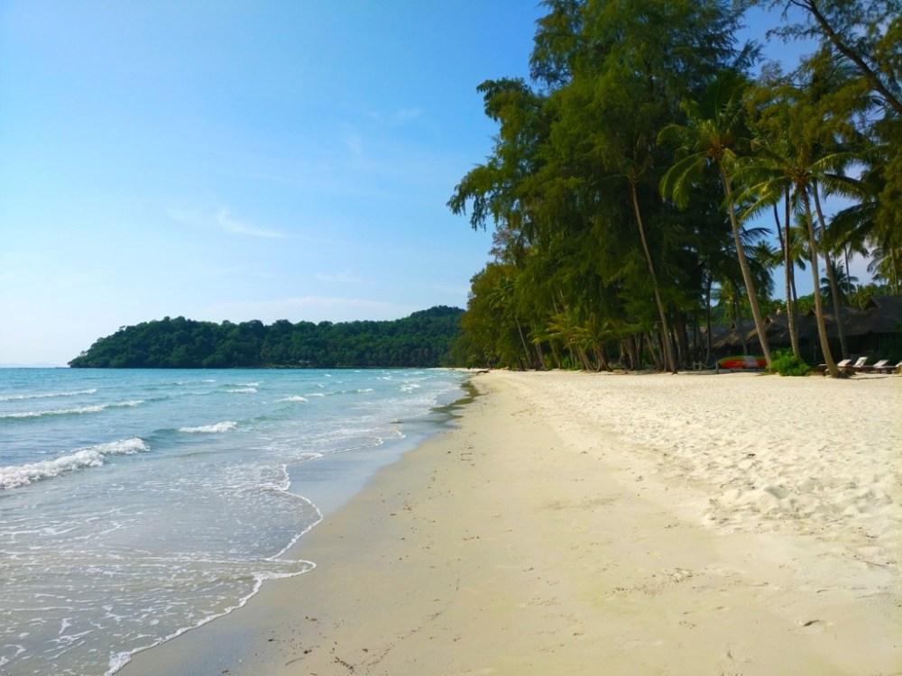 Klong Chao Beach in Koh Kood island Thailand