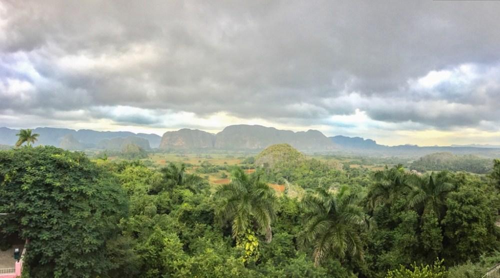 Vinales viewpoint in Cuba