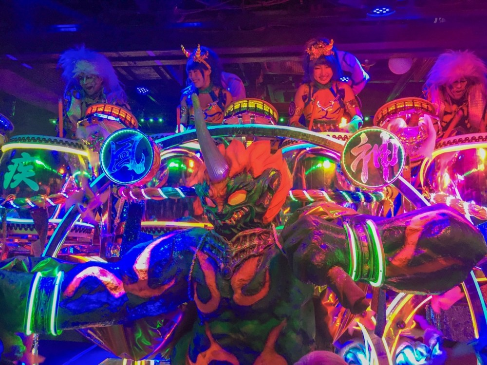 Robot restaurant in Japan