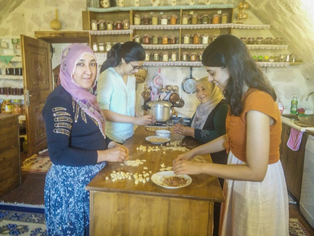 Cooking class with a Turkish grandmother in Cappadocia Turkey