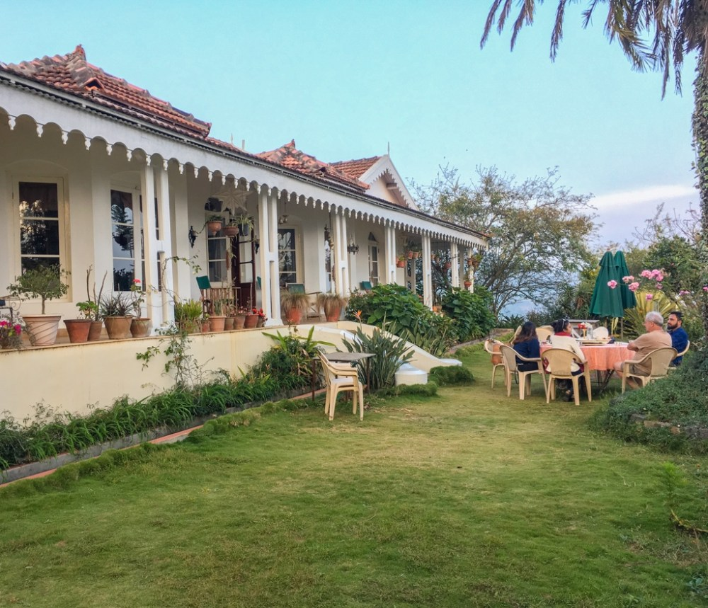Afternoon tea at the La Maison homestay in Nilgiris