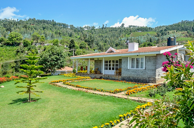 Our home in the mountains in the Nilgiris