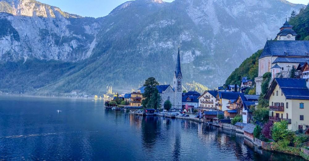Postcard views of Hallstatt