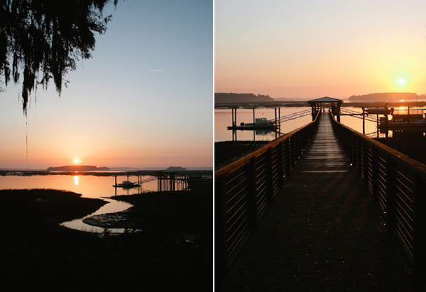 Palmetto Bluff Sunrise Photos