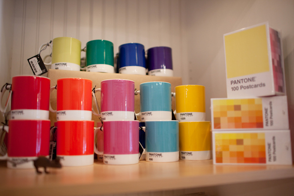 Pantone Mugs at Gus & Ruby