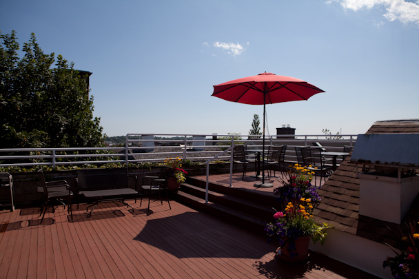 Mill Street Inn Rooftop
