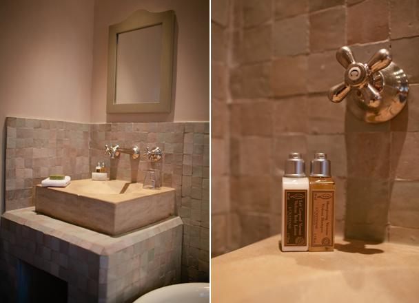 Bathroom at Crillon le Brave