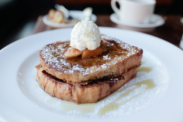 Apple Cinnamon Stuffed French Toast
