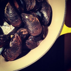 Mussels at home