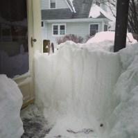 Our back door