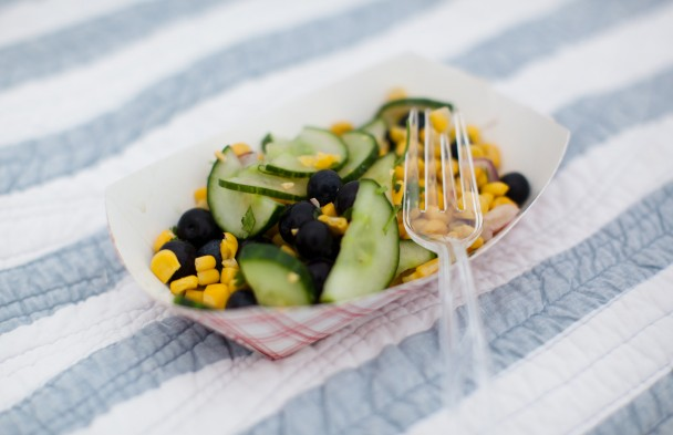 Bite Into Maine Blueberry Salad