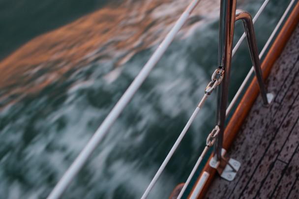 Sailing to Chebeague