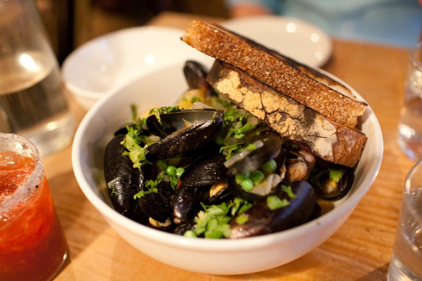 Back Forty West Mussels