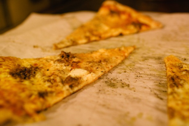 Pizza at 158 Pickett Street