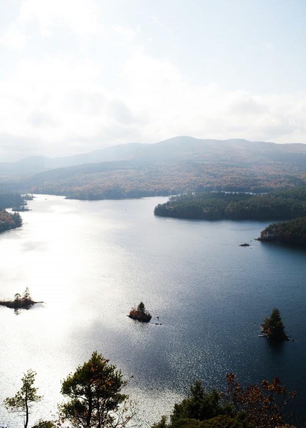 Maiden Cliff Lake Megunticook