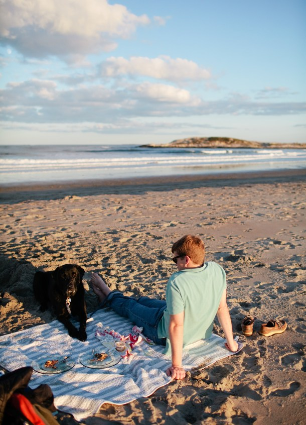 Picnic at Popham Beach