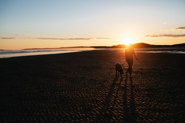 Popham-Beach-Sunset